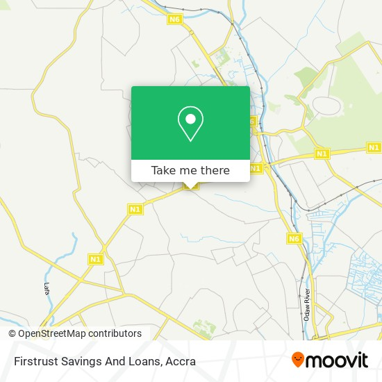 Firstrust Savings And Loans map