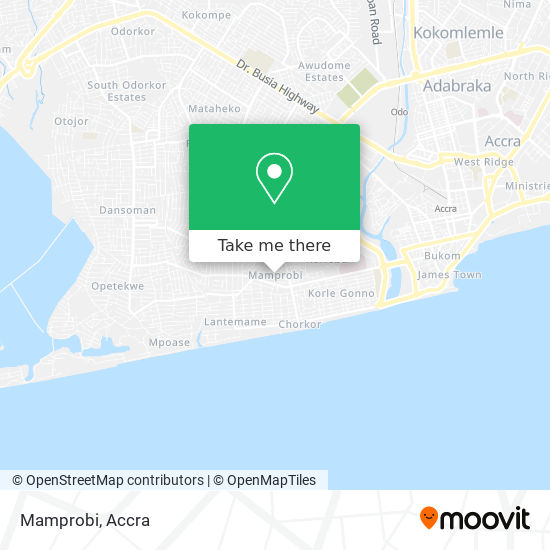 Mamprobi map