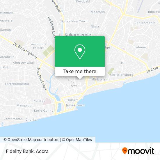 Fidelity Bank map
