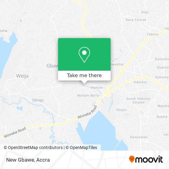 New Gbawe map