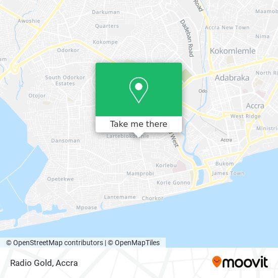 Radio Gold map