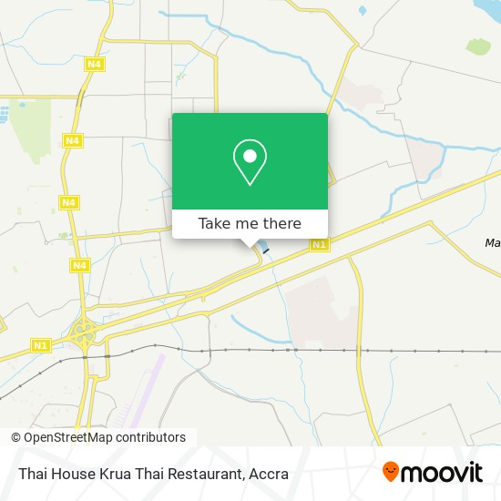 Thai House Krua Thai Restaurant map