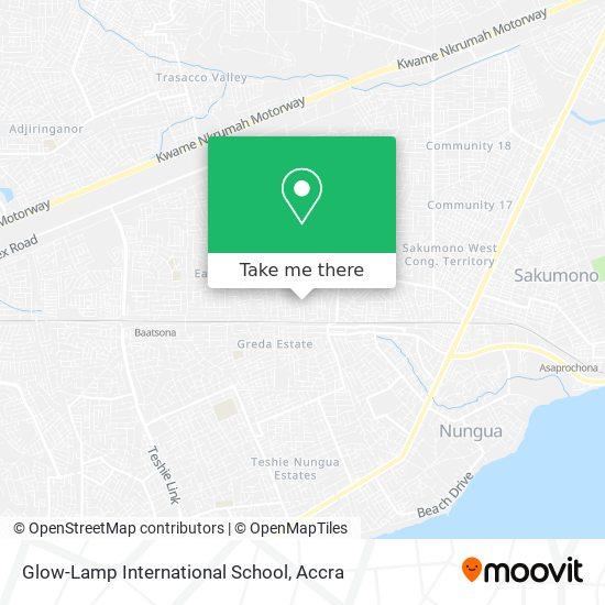 Glow-Lamp International School map