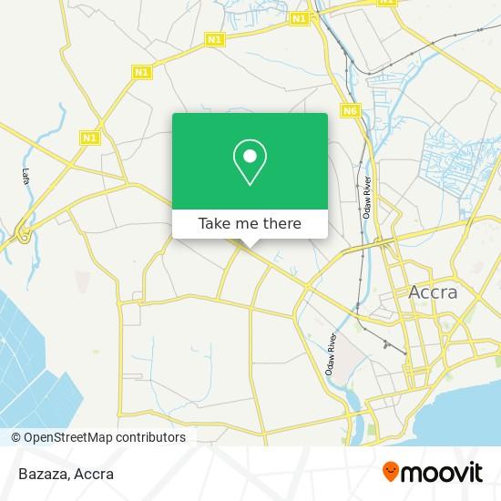 Bazaza map