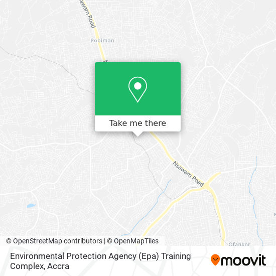 Environmental Protection Agency (Epa) Training Complex map