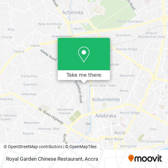 Royal Garden Chinese Restaurant map