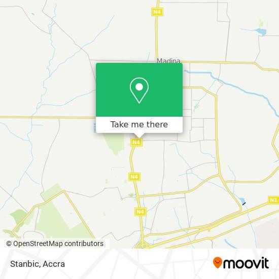 Stanbic map
