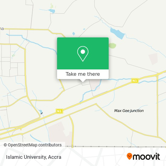 Islamic University map