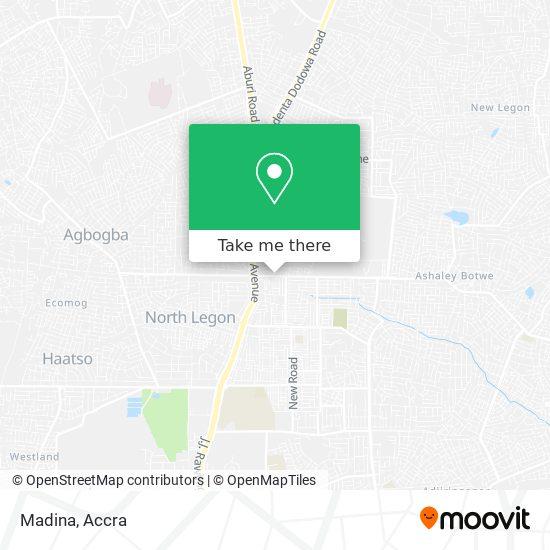 Madina map