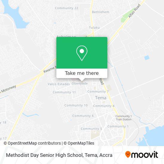 Methodist Day Secondary School map