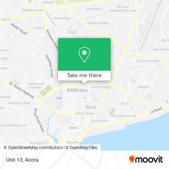 Unit 13 map