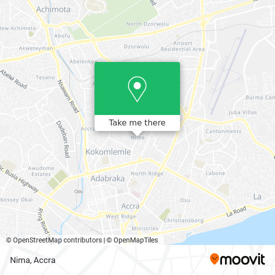 Nima map