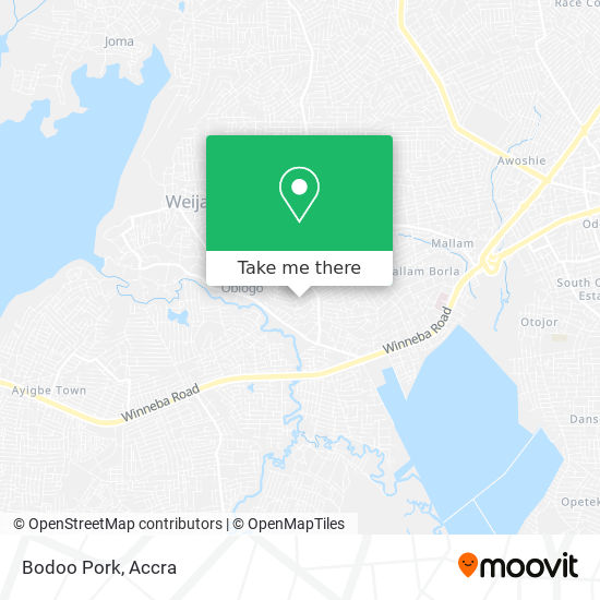 Bodoo Pork map