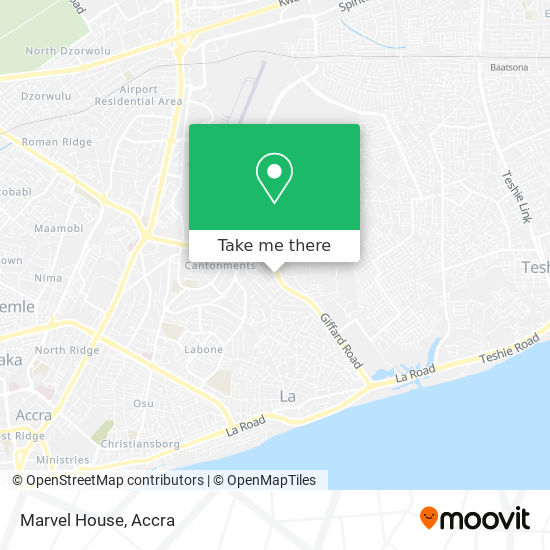 Marvel House map