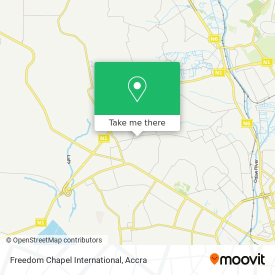 Freedom Chapel International map