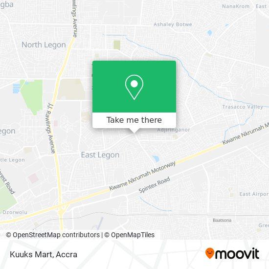 Kuuks Mart map