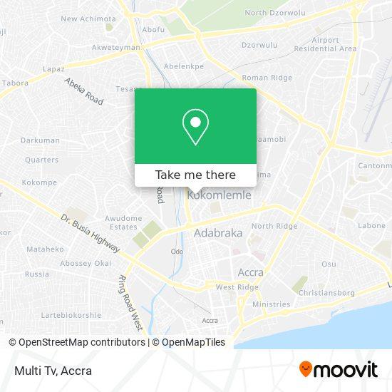 Multi Tv map
