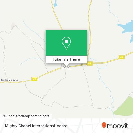 Mighty Chapel International map