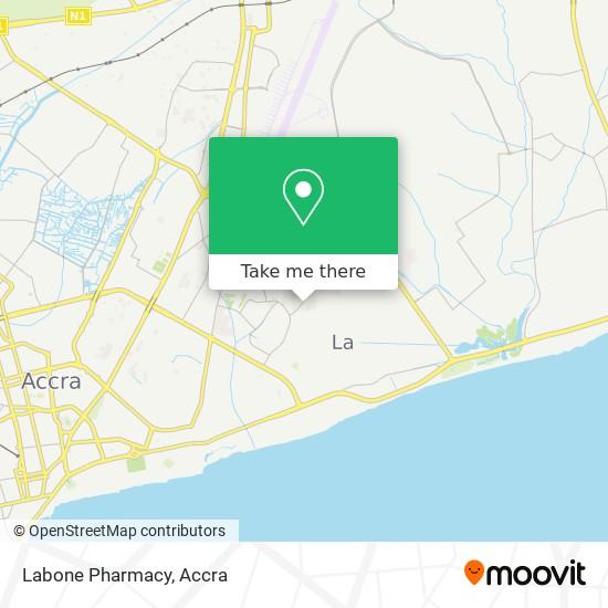 Labone Pharmacy map