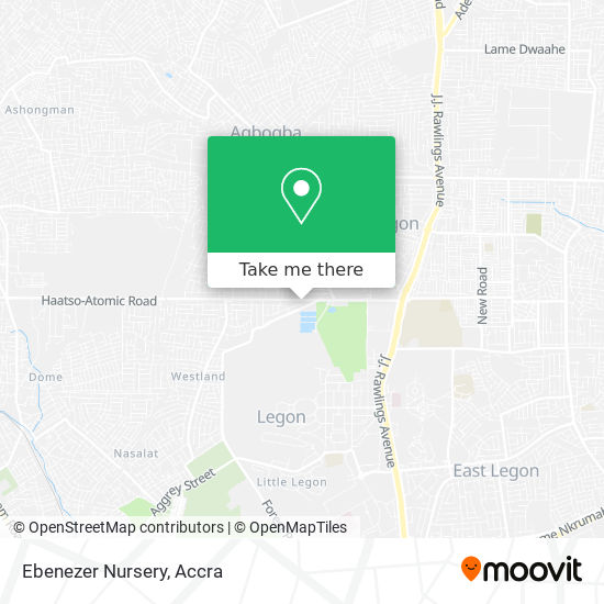 Ebenezer Nursery map