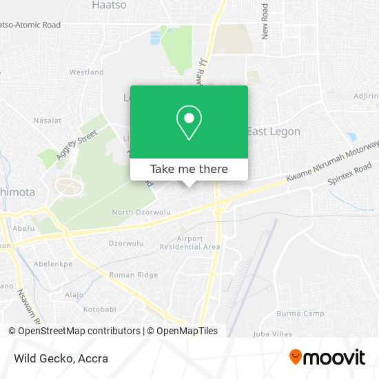 Wild Gecko map
