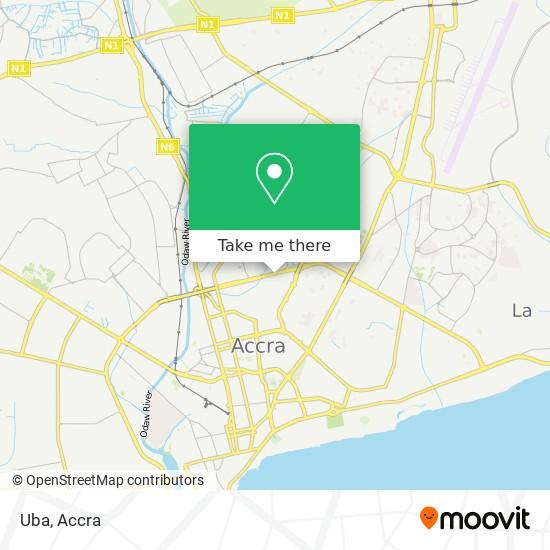 Uba map