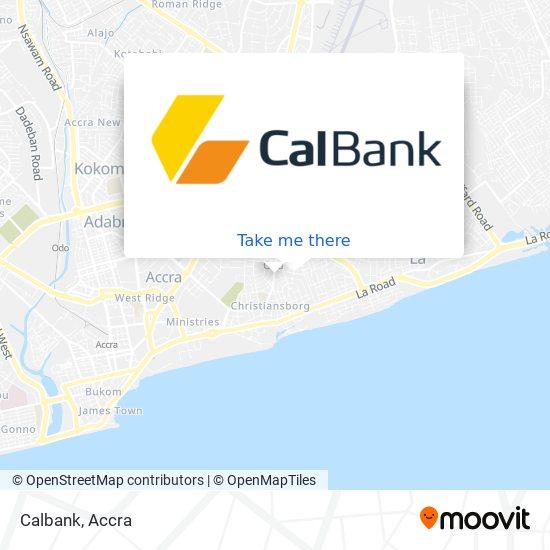 Calbank map