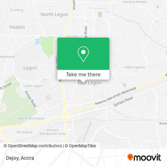Dejoy map