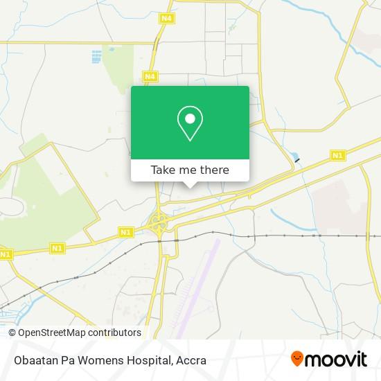 Obaatan Pa Womens Hospital map