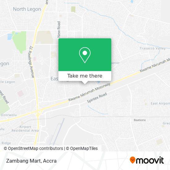 Zambang Mart map