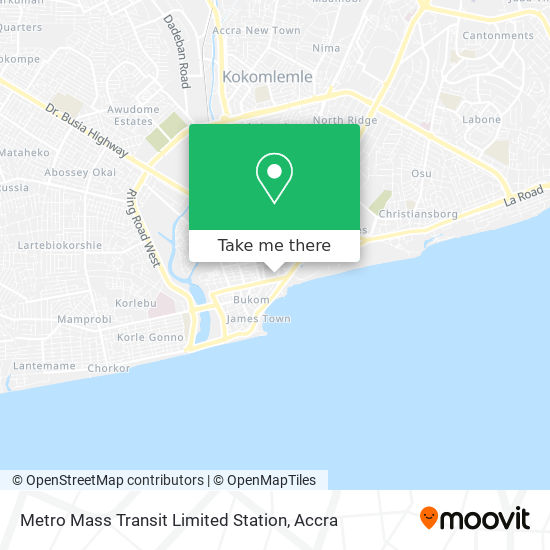 Metro Mass Transit Limited Station map