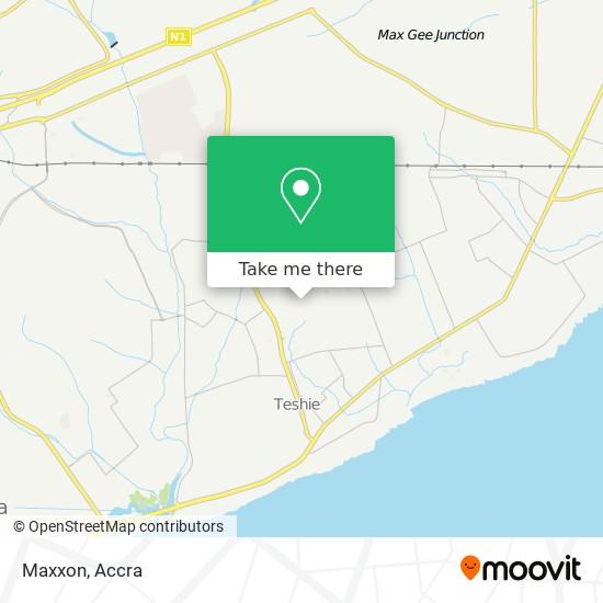 Maxxam map