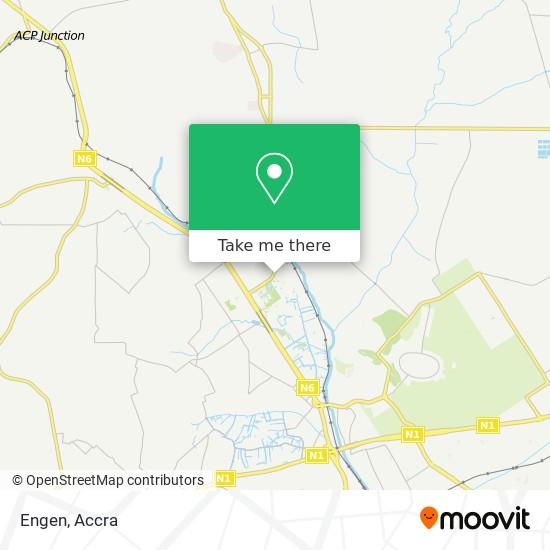 Engen map