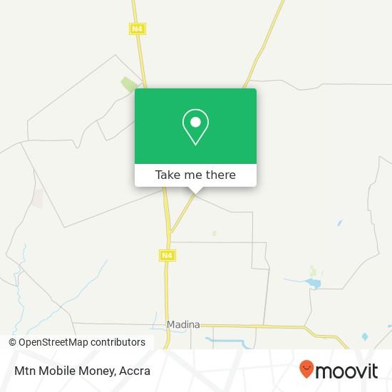 Mtn Mobile Money map