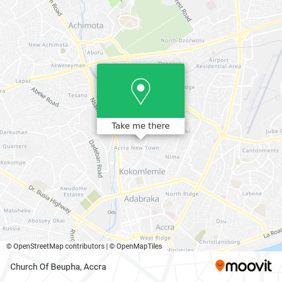 Church Of Beupha map