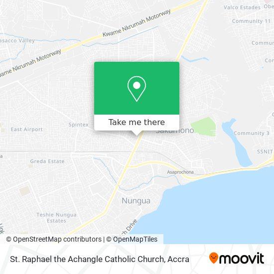 St. Raphael The Achangle Catholic Church map