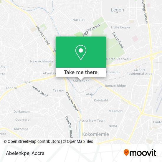 Abelenkpe map
