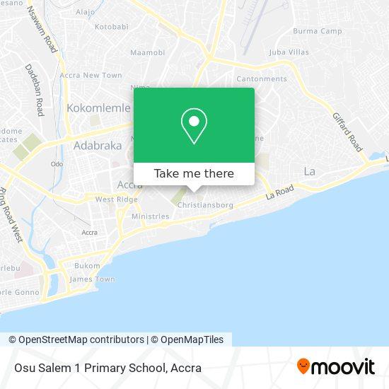 Osu Salem 1 Primary School map