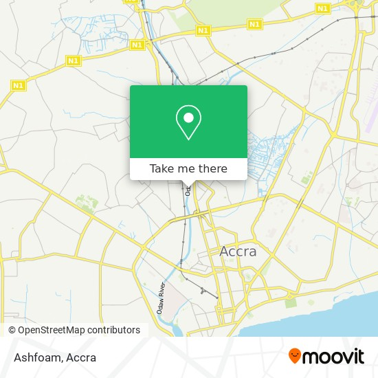 Ashfoam map