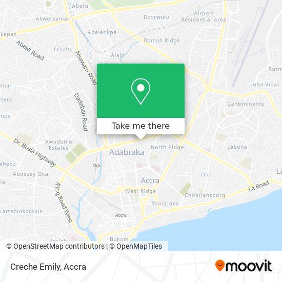 Creche Emily map