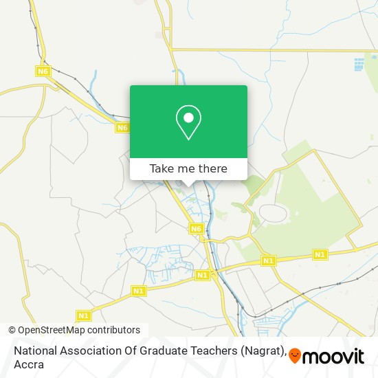 National Association Of Graduate Teachers (Nagrat) map