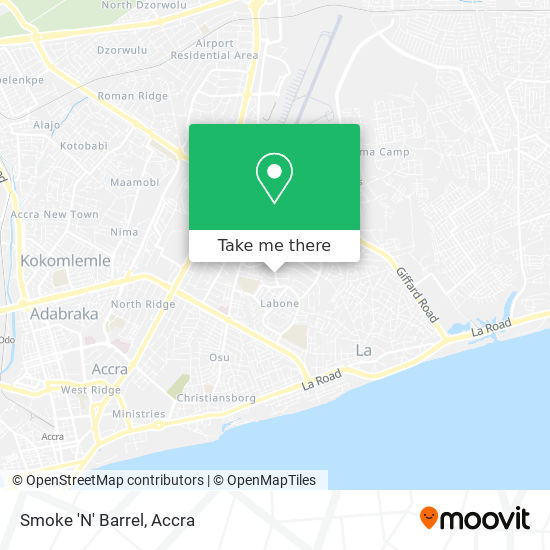 Smoke 'N' Barrel map