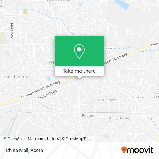 China Mall map