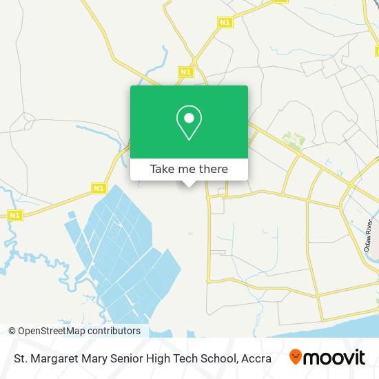 St. Margaret Mary Senior High Tech School map