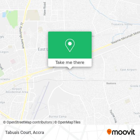 Tabua's Court map