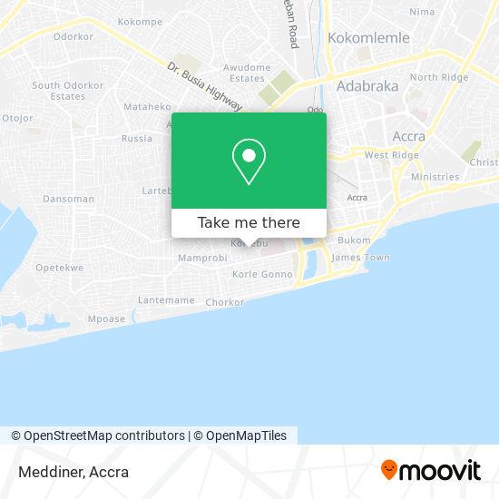 Meddiner map