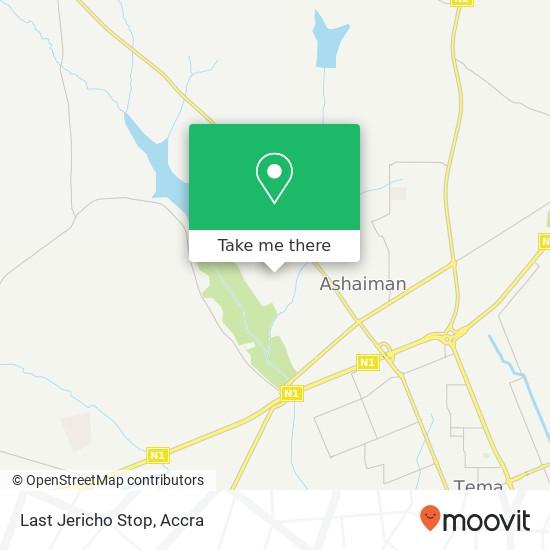 Last Jericho Stop map