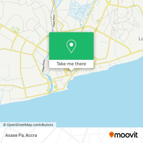 Asase Pa map
