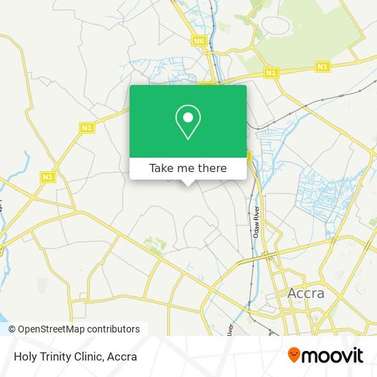 Holy Trinity Clinic map