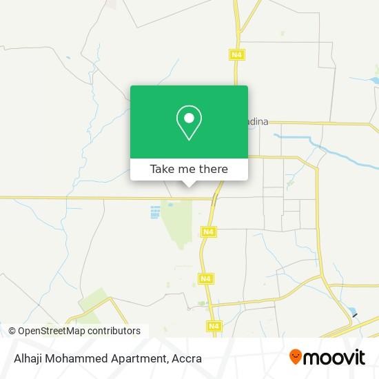 Alhaji Mohammed Appt map